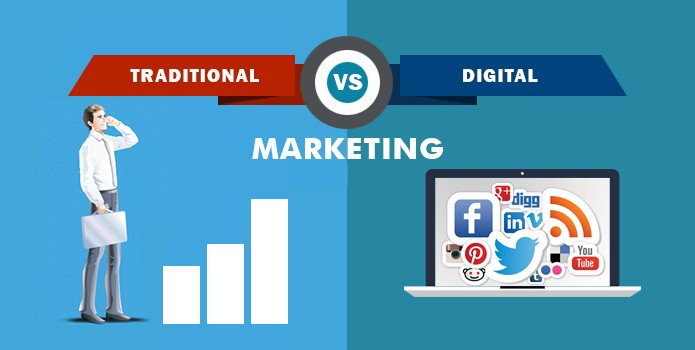 TRADITIONAL MARKETING V/S DIGITAL MARKETING – By Team [Mr. Digitian]